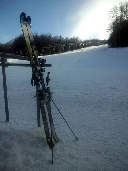 せめてひとなみに。-湯の丸スキー場・第6ゲレンデと参号機