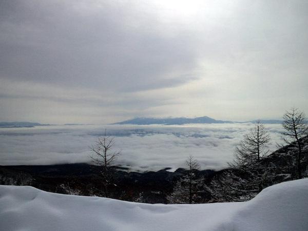 せめてひとなみに。-高峰高原から望む雲海