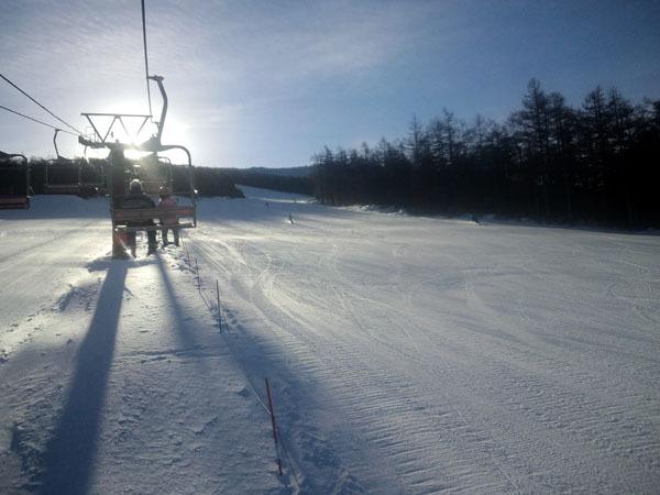 せめてひとなみに。-湯の丸スキー場・第2ゲレンデ