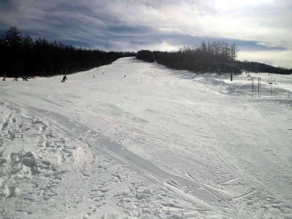 せめてひとなみに。-湯の丸スキー場・第4ゲレンデ