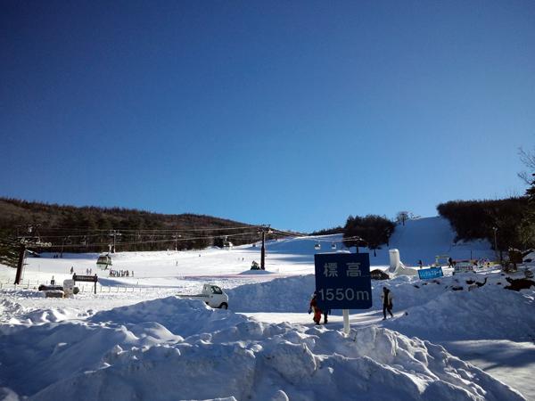 白樺高原国際スキー場 ベース